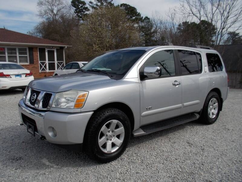 2005 Nissan Armada for sale at Carolina Auto Connection & Motorsports in Spartanburg SC