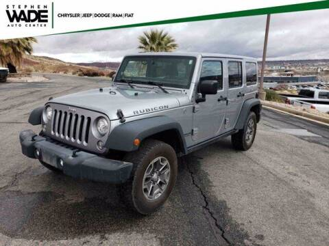2017 Jeep Wrangler Unlimited for sale at Stephen Wade Pre-Owned Supercenter in Saint George UT