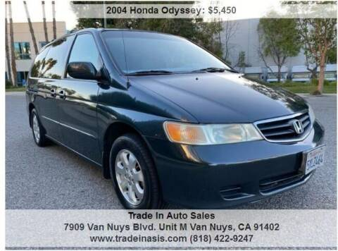 2004 Honda Odyssey for sale at Trade In Auto Sales in Van Nuys CA