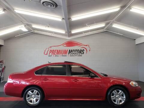 2014 Chevrolet Impala Limited for sale at Premium Motors in Villa Park IL