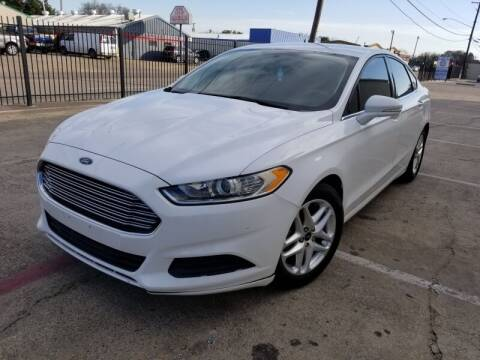 2015 Ford Fusion for sale at A & J Enterprises in Dallas TX
