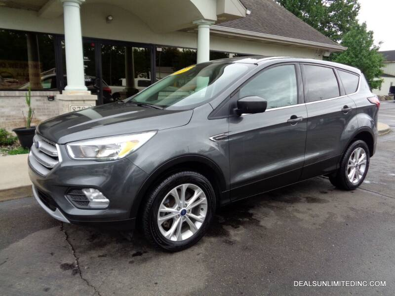 2019 Ford Escape for sale at DEALS UNLIMITED INC in Portage MI