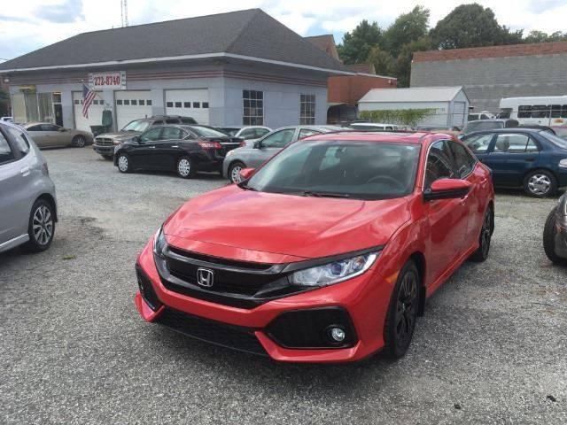 2017 Honda Civic for sale at Specialty Bank Liquidators in Greensboro NC