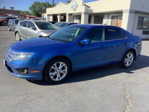 2012 Ford Fusion for sale at Beutler Auto Sales in Clearfield UT