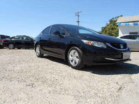 2013 Honda Civic for sale at Mountain Auto in Jackson CA