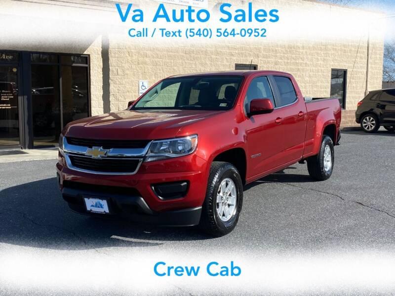 2016 Chevrolet Colorado for sale at Va Auto Sales in Harrisonburg VA