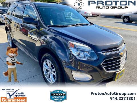 2016 Chevrolet Equinox for sale at Proton Auto Group in Yonkers NY