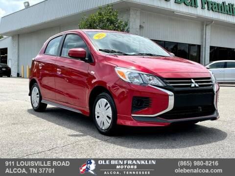 2021 Mitsubishi Mirage for sale at Ole Ben Franklin Motors-Mitsubishi of Alcoa in Alcoa TN