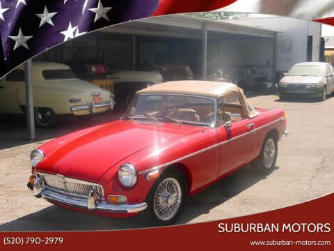 1978 MG MGB for sale at Suburban Motors in Tucson AZ