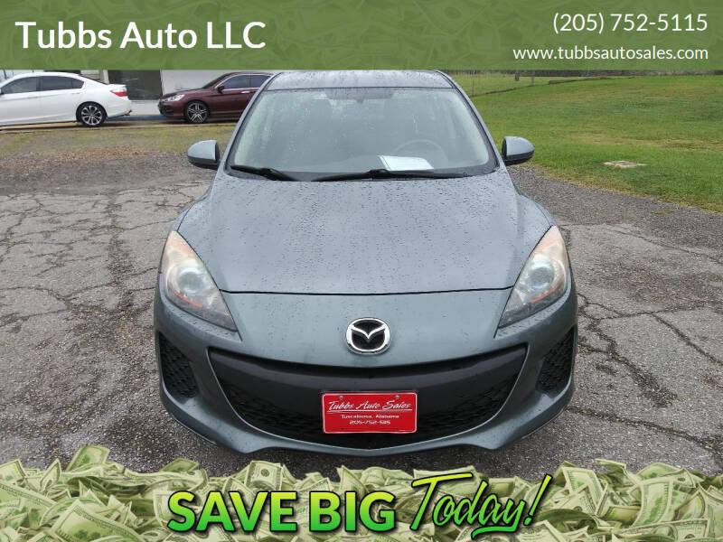 2013 Mazda MAZDA3 for sale at Tubbs Auto LLC in Tuscaloosa AL
