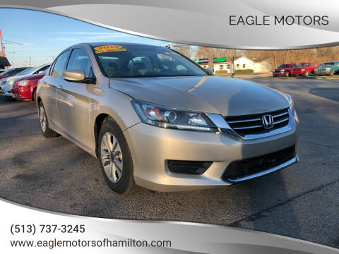 2015 Honda Accord for sale at Eagle Motors in Hamilton OH
