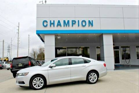2020 Chevrolet Impala for sale at Champion Chevrolet in Athens AL
