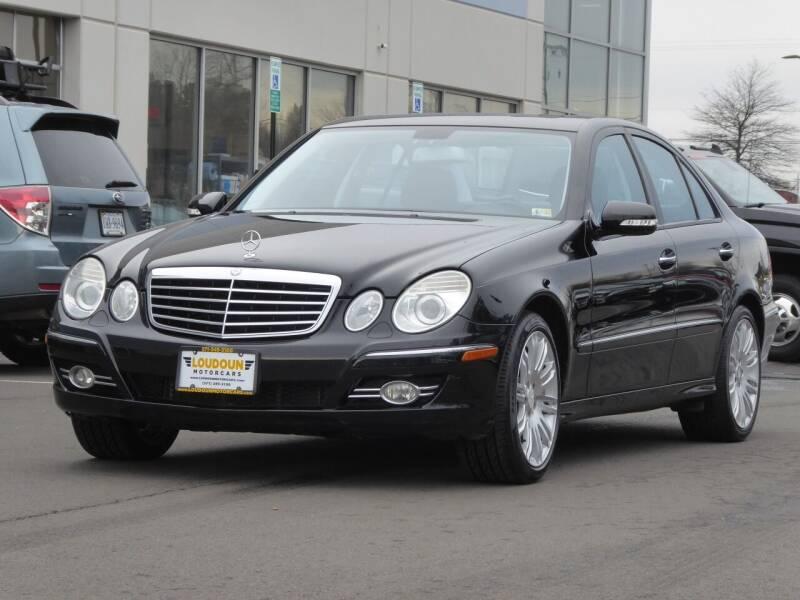 2008 Mercedes-Benz E-Class for sale at Loudoun Motor Cars in Chantilly VA
