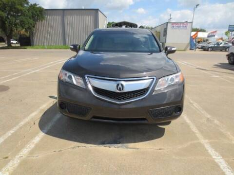 2015 Acura RDX for sale at MOTORS OF TEXAS in Houston TX