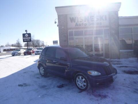 2005 Chrysler PT Cruiser for sale at Wisneski Auto Sales, Inc. in Green Bay WI