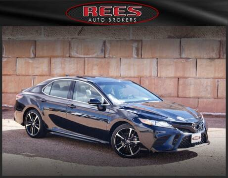 2018 Toyota Camry for sale at REES AUTO BROKERS in Washington UT