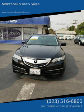 2016 Acura TLX for sale at Montebello Auto Sales in Montebello CA