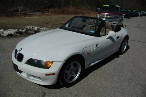 1997 BMW Z3 for sale at Bruce H Richardson Auto Sales in Windham NH