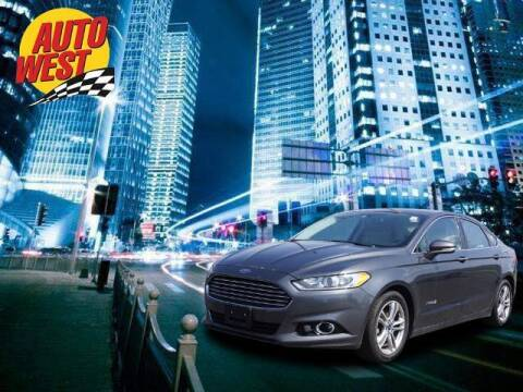 2015 Ford Fusion Hybrid for sale at Autowest of Plainwell in Plainwell MI