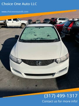 2009 Honda Civic for sale at Choice One Auto LLC in Beech Grove IN