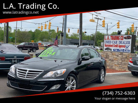 2012 Hyundai Genesis for sale at L.A. Trading Co. Woodhaven in Woodhaven MI