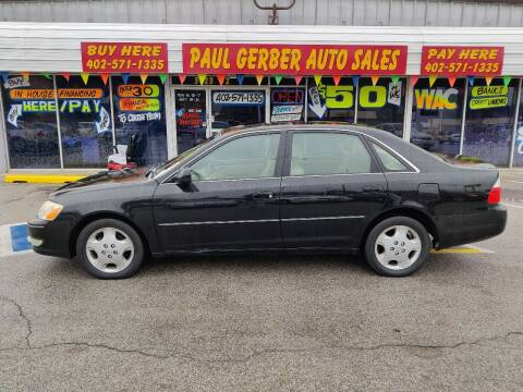 2004 Toyota Avalon for sale at Paul Gerber Auto Sales in Omaha NE