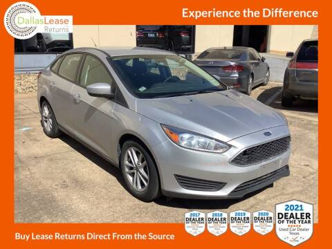 2018 Ford Focus for sale at Dallas Auto Finance in Dallas TX