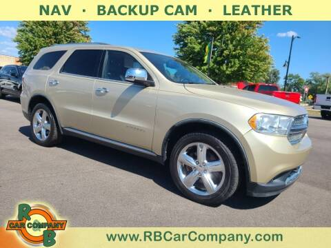 2012 Dodge Durango for sale at R & B Car Company in South Bend IN