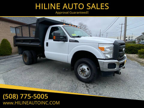 2011 Ford F-350 Super Duty for sale at HILINE AUTO SALES in Hyannis MA