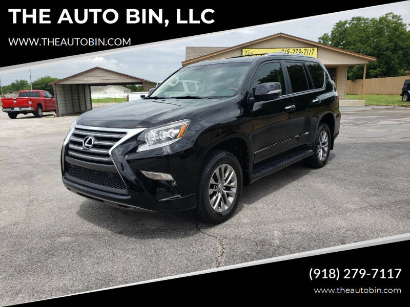 2017 Lexus GX 460 for sale at THE AUTO BIN, LLC in Broken Arrow OK