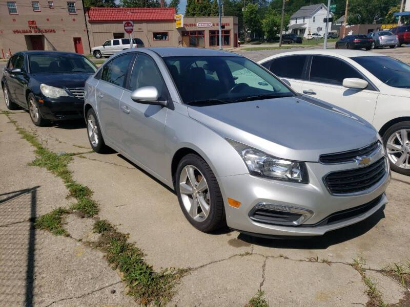 2015 Chevrolet Cruze for sale at M & C Auto Sales in Toledo OH