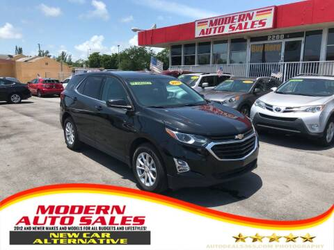 2019 Chevrolet Equinox for sale at Modern Auto Sales in Hollywood FL