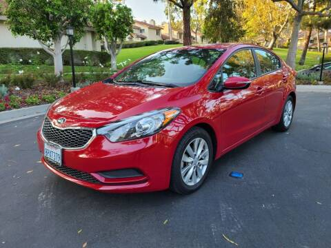 2016 Kia Forte for sale at E MOTORCARS in Fullerton CA