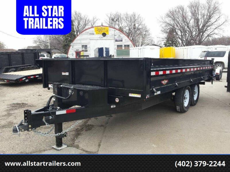 2019 H&H 16 FOOT DUMPBOX for sale at ALL STAR TRAILERS Dump Boxes in , NE
