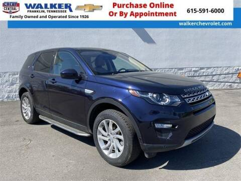 2019 Land Rover Discovery Sport for sale at WALKER CHEVROLET in Franklin TN
