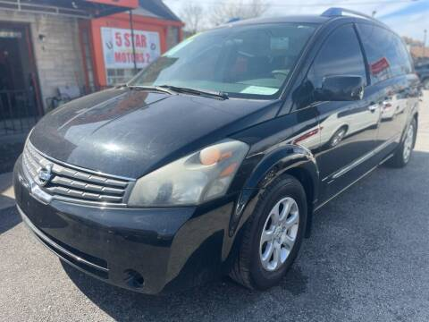 2008 Nissan Quest for sale at 5 STAR MOTORS 1 & 2 - 5 STAR MOTORS in Louisville KY