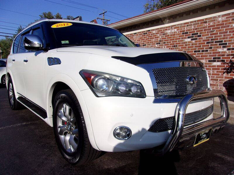 2012 Infiniti QX56 for sale at Certified Motorcars LLC in Franklin NH