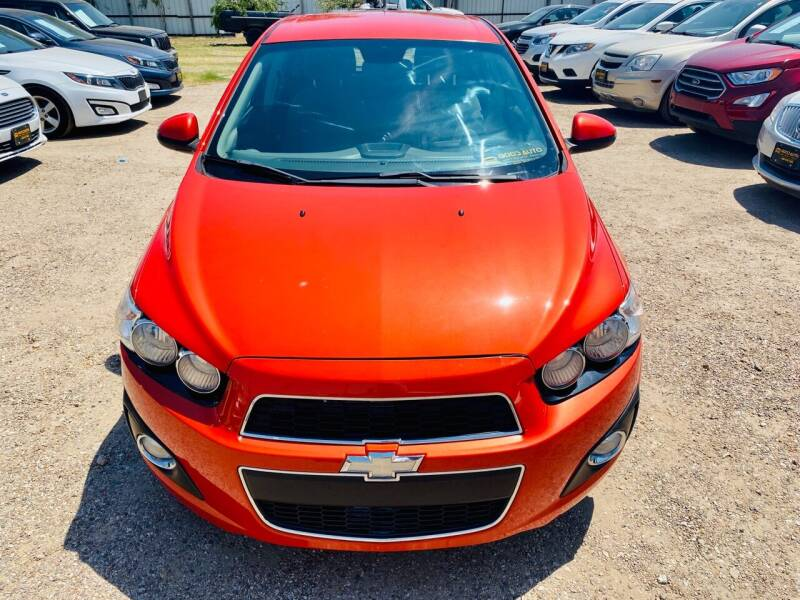 2013 Chevrolet Sonic for sale at Good Auto Company LLC in Lubbock TX