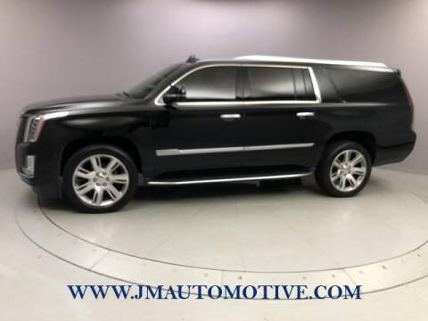 2017 Cadillac Escalade ESV for sale at J & M Automotive in Naugatuck CT