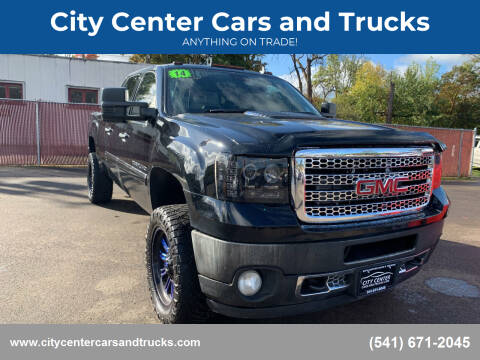 2014 GMC Sierra 2500HD for sale at City Center Cars and Trucks in Roseburg OR