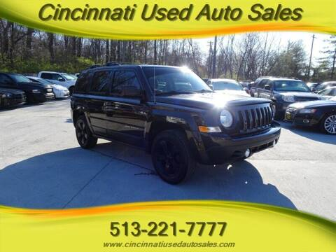 2014 Jeep Patriot for sale at Cincinnati Used Auto Sales in Cincinnati OH
