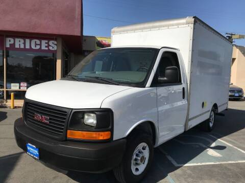 2012 GMC Savana Cutaway for sale at Sanmiguel Motors in South Gate CA