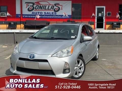 2014 Toyota Prius c for sale at Bonillas Auto Sales in Austin TX