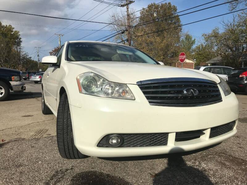 2006 Infiniti M45 for sale at King Louis Auto Sales in Louisville KY