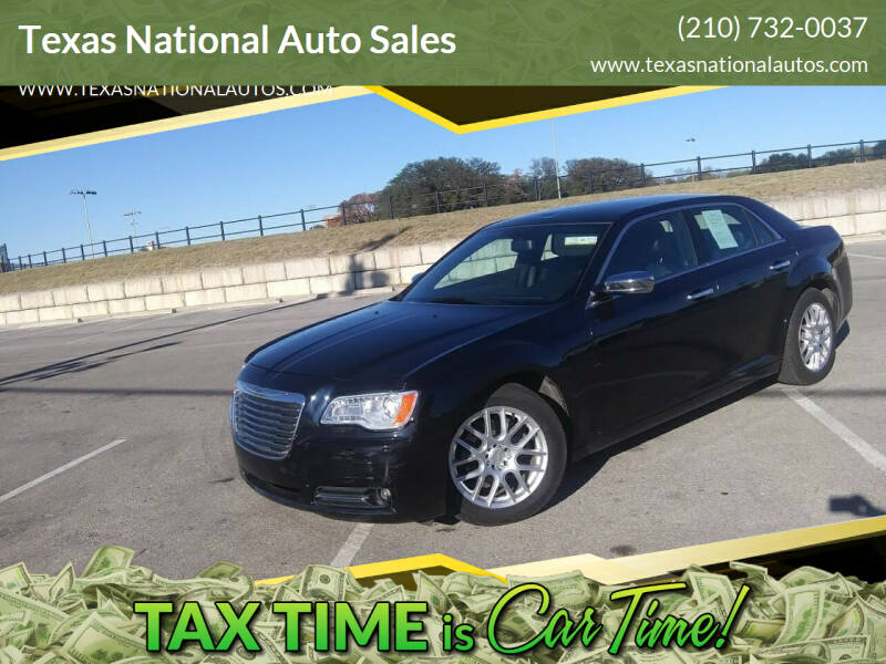 2012 Chrysler 300 for sale at Texas National Auto Sales in San Antonio TX