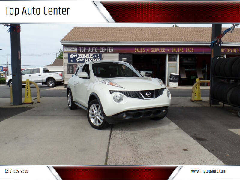 2012 Nissan JUKE for sale at Top Auto Center in Quakertown PA