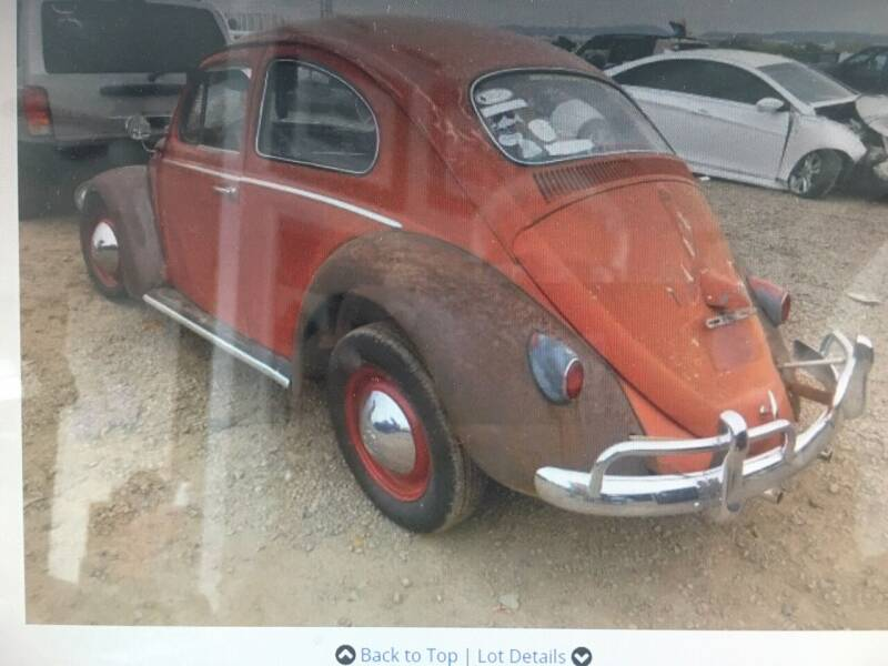 1962 Volkswagen Beetle for sale at TOP TWO USA INC in Oakland Park FL