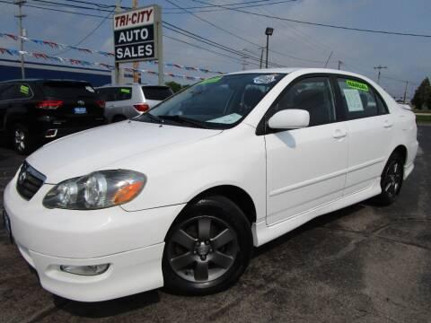 2008 Toyota Corolla for sale at TRI CITY AUTO SALES LLC in Menasha WI