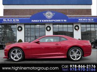 2012 Chevrolet Camaro for sale at Highline Group Motorsports in Lowell MA