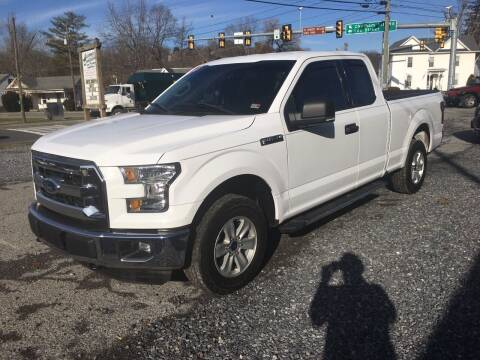2016 Ford F-150 for sale at THE AUTOMOTIVE CONNECTION in Atkins VA